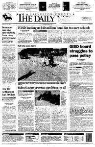 Galveston Daily News, October 21, 1999, Page 1