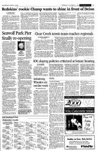 Galveston Daily News, October 21, 1999, Page 15