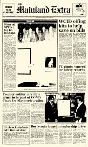 Mainland Extra, March 23, 1987, Page 1