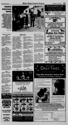 Kerrville Daily Times, July 19, 2006, Page 7