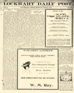 Lockhart Daily Post, June 03, 1901, Page 5