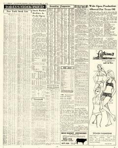 Avalanche Journal newspaper archives