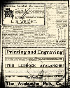 Lubbock Avalanche Journal, June 11, 1914, Page 7