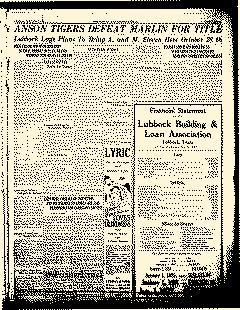 Lubbock Sunday Avalanche Journal, January 02, 1927, Page 3