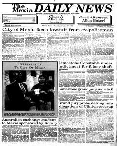 Mexia Daily News, January 27, 1998, Page 1