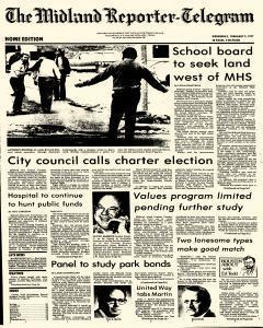 Midland Reporter Telegram, February 09, 1977, Page 1