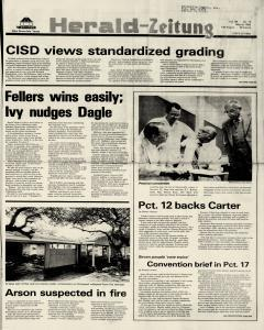 New Braunfels Herald Zeitung, May 08, 1980, Page 1