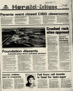 New Braunfels Herald Zeitung, May 22, 1980, Page 1