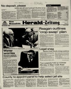New Braunfels Herald Zeitung, January 11, 1983, Page 1