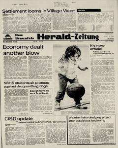 New Braunfels Herald Zeitung, January 19, 1983, Page 1