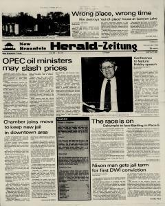 New Braunfels Herald Zeitung, February 22, 1983, Page 1