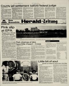 New Braunfels Herald Zeitung, February 24, 1983, Page 1