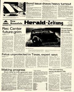 New Braunfels Herald Zeitung, May 03, 1983, Page 1