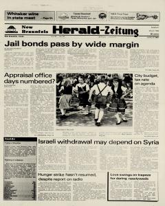 New Braunfels Herald Zeitung, May 08, 1983, Page 1