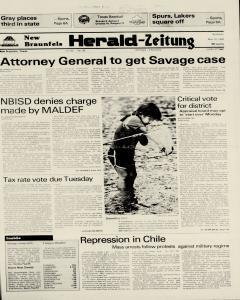 New Braunfels Herald Zeitung, May 15, 1983, Page 1