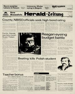 New Braunfels Herald Zeitung, May 19, 1983, Page 1