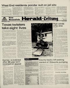 New Braunfels Herald Zeitung, May 20, 1983, Page 1