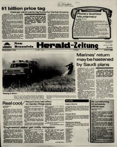 New Braunfels Herald Zeitung, January 05, 1984, Page 1