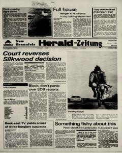 New Braunfels Herald Zeitung, January 11, 1984, Page 1