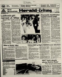 New Braunfels Herald Zeitung, January 29, 1984, Page 1