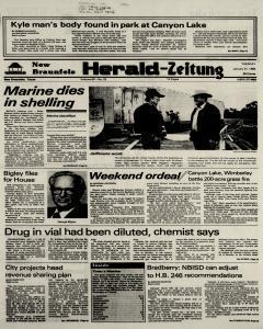 New Braunfels Herald Zeitung, January 31, 1984, Page 1