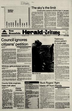 New Braunfels Herald Zeitung, February 03, 1984, Page 1