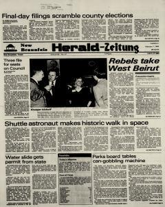 New Braunfels Herald Zeitung, February 07, 1984, Page 1