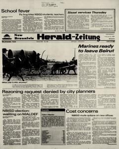 New Braunfels Herald Zeitung, February 08, 1984, Page 1