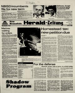 New Braunfels Herald Zeitung, February 09, 1984, Page 1