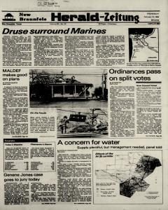 New Braunfels Herald Zeitung, February 15, 1984, Page 1