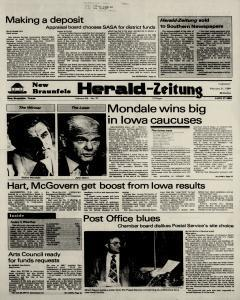 New Braunfels Herald Zeitung, February 21, 1984, Page 1