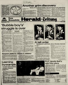 New Braunfels Herald Zeitung, February 23, 1984, Page 1