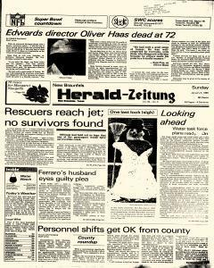 New Braunfels Herald Zeitung, January 06, 1985, Page 1