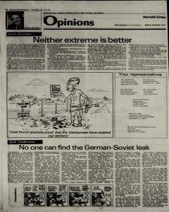 New Braunfels Herald Zeitung, January 30, 1985, Page 4
