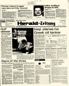 New Braunfels Herald Zeitung, February 12, 1985, Page 1