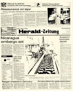 New Braunfels Herald Zeitung, May 01, 1985, Page 1