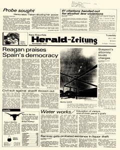 New Braunfels Herald Zeitung, May 07, 1985, Page 1
