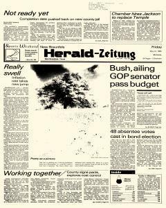 New Braunfels Herald Zeitung, May 10, 1985, Page 1