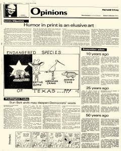 New Braunfels Herald Zeitung, May 19, 1985, Page 4
