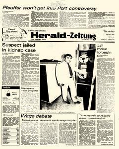 New Braunfels Herald Zeitung, May 23, 1985, Page 1