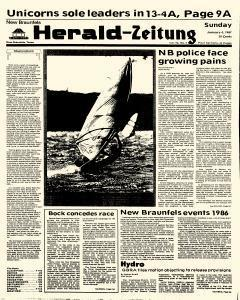 New Braunfels Herald Zeitung, January 04, 1987, Page 1