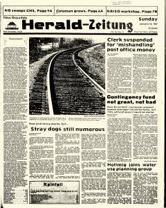 New Braunfels Herald Zeitung, January 18, 1987, Page 1