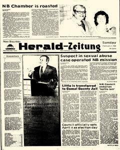 New Braunfels Herald Zeitung, February 01, 1987, Page 1