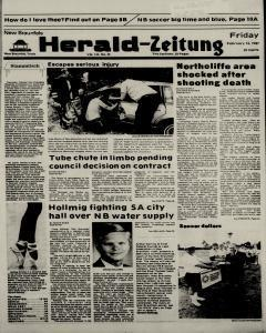 New Braunfels Herald Zeitung, February 13, 1987, Page 1