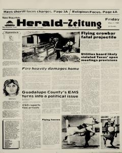 New Braunfels Herald Zeitung, May 01, 1987, Page 1