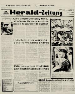 New Braunfels Herald Zeitung, May 06, 1987, Page 1