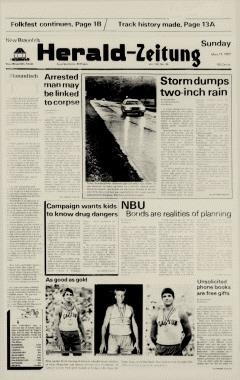 New Braunfels Herald Zeitung, May 17, 1987, Page 1
