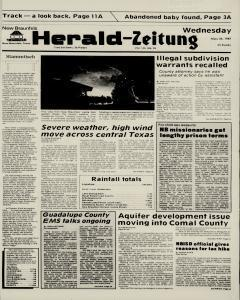 New Braunfels Herald Zeitung, May 20, 1987, Page 1