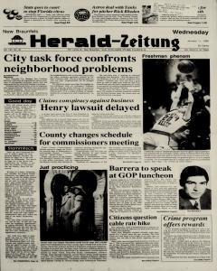 New Braunfels Herald Zeitung, January 11, 1989, Page 1