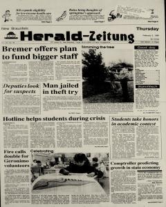 New Braunfels Herald Zeitung, February 02, 1989, Page 1